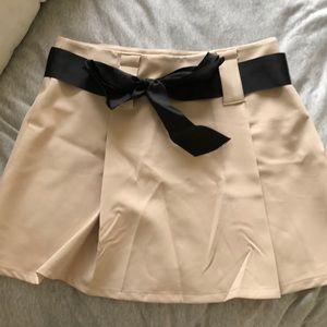 Dresses & Skirts - Nude circle skirt